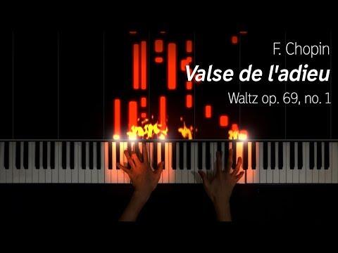 Chopin - Valse de l'adieu, op. 69 no. 1