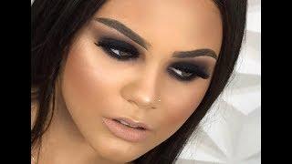 Maquiando cliente #28: Olho Preto para iniciantes - SMOKEY EYES