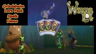 Wizard101 New Pack Spell