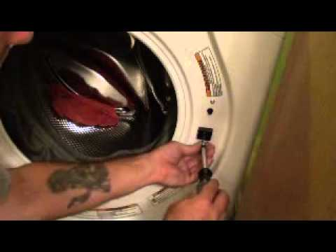 Front Load Washer Door Lock Youtube