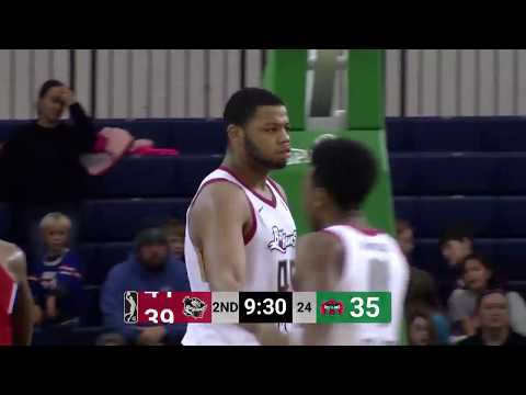 Hawks Assignee Omari Spellman Posts 28 PTS, 14 REB & 5 AST In NBA G League Debut With BayHawks