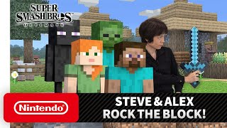 "Super Smash Bros. Ultimate - Mr. Sakurai Presents ""Steve & Alex"""
