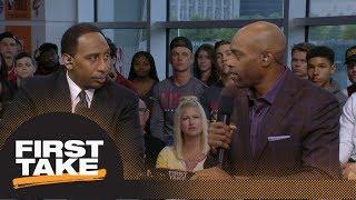 Stephen A., Vince Carter, Max Kellerman on LeBron James eclipsing Michael Jordan | First Take | ESPN