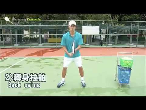 【陽光網球】正手拍基本動作教學