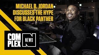Michael B. Jordan Discusses Almost Working in Fast Food, Hype for Black Panther & Kobe Bryant