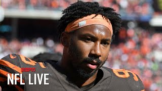 Myles Garrett's indefinite suspension upheld, Maurkice Pouncey's reduced to 2 games   NFL Live