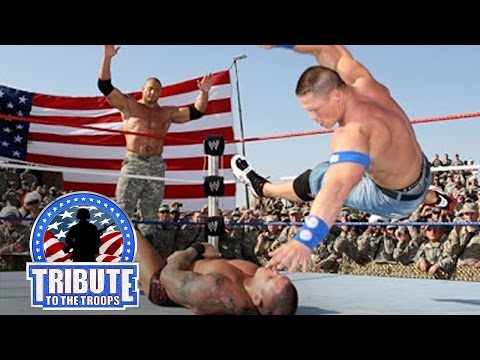FULL-LENGTH MATCH - Tribute 2008 - John Cena, Batista & Rey Mysterio Vs. Randy Orton & Jeri-Show - Smashpipe Sports