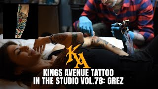 Tiger Rose Tattoo | In The Studio Vol. 78 with Grez