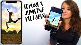 How To Take Cool Jumping Pictures! (iPhone X)