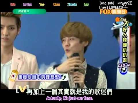 {eng sub}(480p)[full] 120903 EXO-M Just Love JK【就是爱JK】