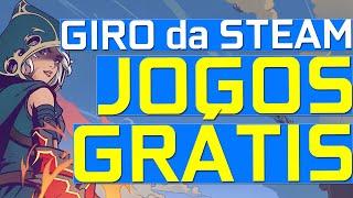 GIRO DA STEAM - Jogos GRÁTIS, Epic Games, Steam, Ubisoft Connect, Jogos Remasterizados e XBOX dia 10