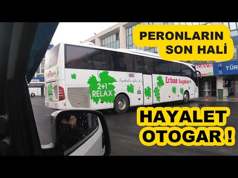 Otogar'daki Peronlar Nasıl Oldu ? Esenler Otogar'ı Hayalete Döndü