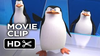 Penguins of Madagascar Movie CLIP - North Wind Headquarters (2014) Benedict Cumberbatch Movie HD