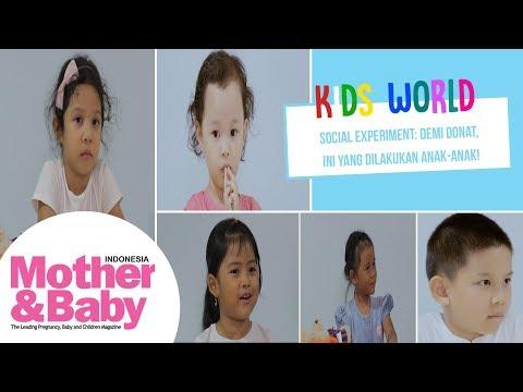 Kids World - Social Experiment: Demi Donat, Ini Yang Dilakukan Anak-Anak!