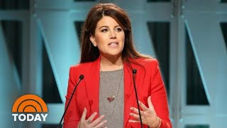 Monica Lewinsky Reflects On Surviving Her 'Mistake' In Speech   TODAY
