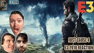 Just Cause 4 E3 2018 Trailer Reaction