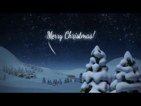 Merry christmas animation Santa whatsapp video AtoZwishes