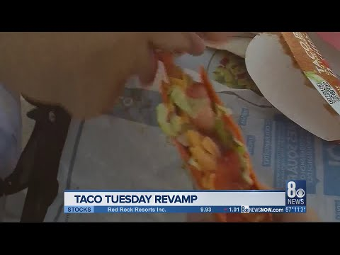 Taco Bell to offer free tacos on Tuesday