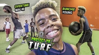 12 Year Old Bunchie Young Goes Through INSANE WORKOUT!