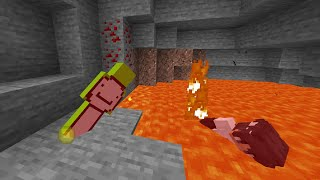 Minecraft, But Our Damage Is Shared...