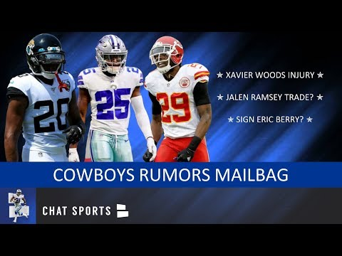 Xavier Woods Injury, Taco Charlton Future & Trade For Jalen Ramsey Or Eric Berry? | Cowboys Mailbag