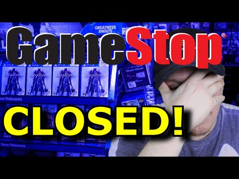 GameStop is Closing Down! (For Real This Time)