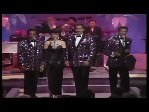 The  Platters  &  The  Diamonds   --  Only  You  &  Unchained  Melody  [[ Official  Live  Video]] HD
