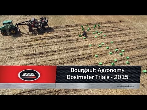 Bourgault Agronomy Dosimeter Trials - 2015