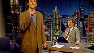 Bill Murray and the Heckler (Joe Furey) on Letterman