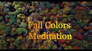 Fall Colors Meditation   Autumn Forest Scenes, Relaxing Music, Monday Meditation, Wayne Kinos