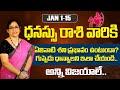 Dhanassu Rasi January 2021 Telugu (1-15)    Telugu Rashi Phalalu 2021   Sagittarius Horoscope 2021