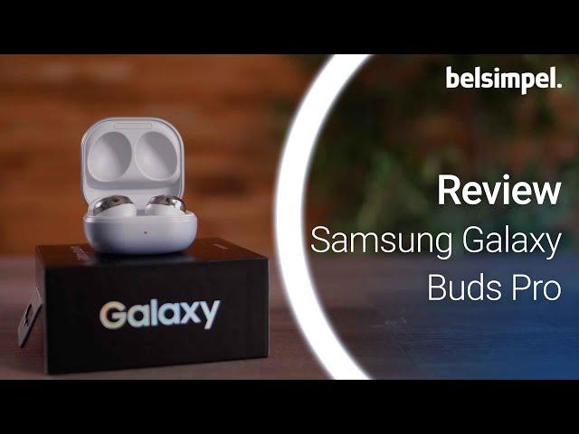 Belsimpel-productvideo voor de Samsung Galaxy Buds Pro Zwart