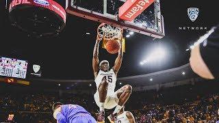 Highlights  No. 18 Arizona State men s basketball hands No. 1 Kansas first  loss b819c288f