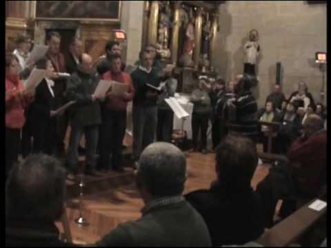 DUERME NIÑO JESUS - Coro Parroquial de Desojo