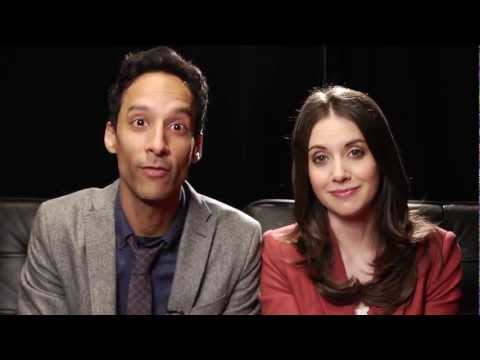 Alison Brie And Danny Pudi Can't Hold It In Anymore