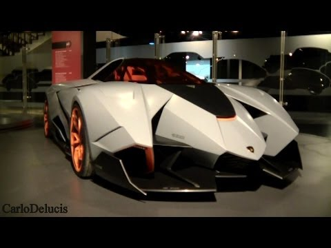 Lamborghini Egoista: Walkaround And Details