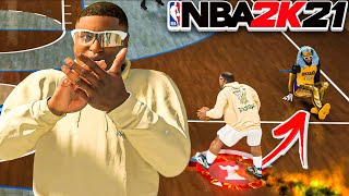 NBA 2K21 FAT DRIBBLE DEMIGOD DOMINATES ISO HIGHROLLERS STAGE IN CURRENT GEN! (FATTEST MYPLAYER EVER)