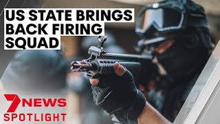 US state of South Carolina brings back firing squad as method of execution   7NEWS Spotlight