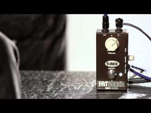 T-REX Fat Shuga Boost/Reverb Pedal