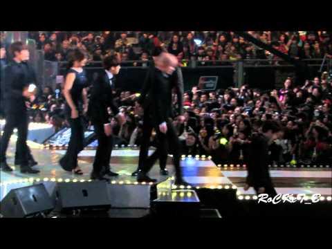 131122 EXO & Infinite & Song JiHyo in MAMA