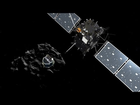 Rosetta Mission Lands Probe on Comet