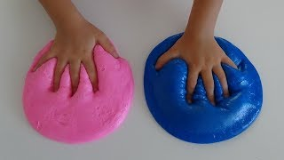 Kutudan Çıkan Renkle Slime Yap Challenge