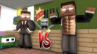 Monster School: Herobrine Epic Battle Challenge - Minecraft Animation