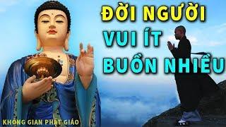 Đừng Khóc Khi Đời Vất Vả - Phật Dạy Đời Người Vui Ít Buồn Nhiều Đều Do Điều Này - Nghe Để Hạnh Phúc