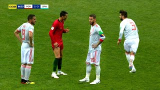 When You Don't Realize You Are Playing Against Cristiano Ronaldo