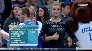 Gracie Kramer 2018 Floor vs OSU 9.950
