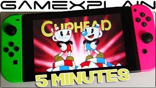 5 Minutes of Cuphead for Nintendo Switch - Handheld Gameplay