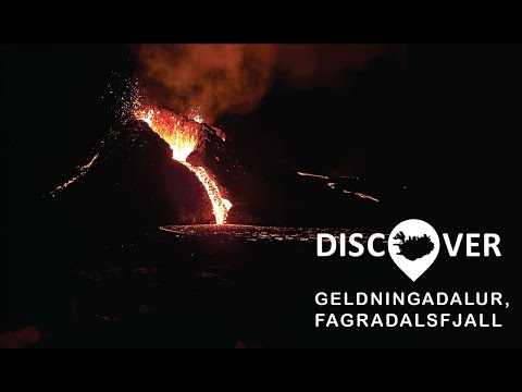 DISCOVER the Volcano - Geldingadalur, Fagradalsfjall Eruption