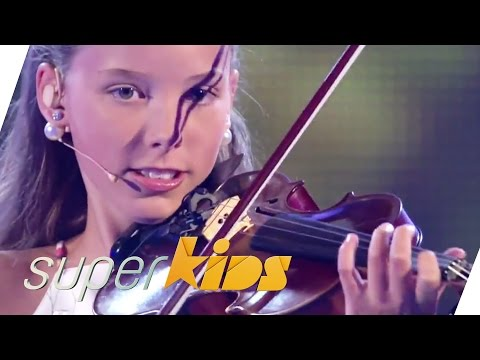 12 yrs old Violin Master Elena from Germany   Superkids