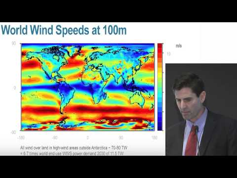 Stanford Professor Mark Jacobson at Pathways to 100% Renewable ...